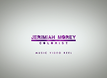 "Jerimiah Morey ""Music Video Reel 2014"""
